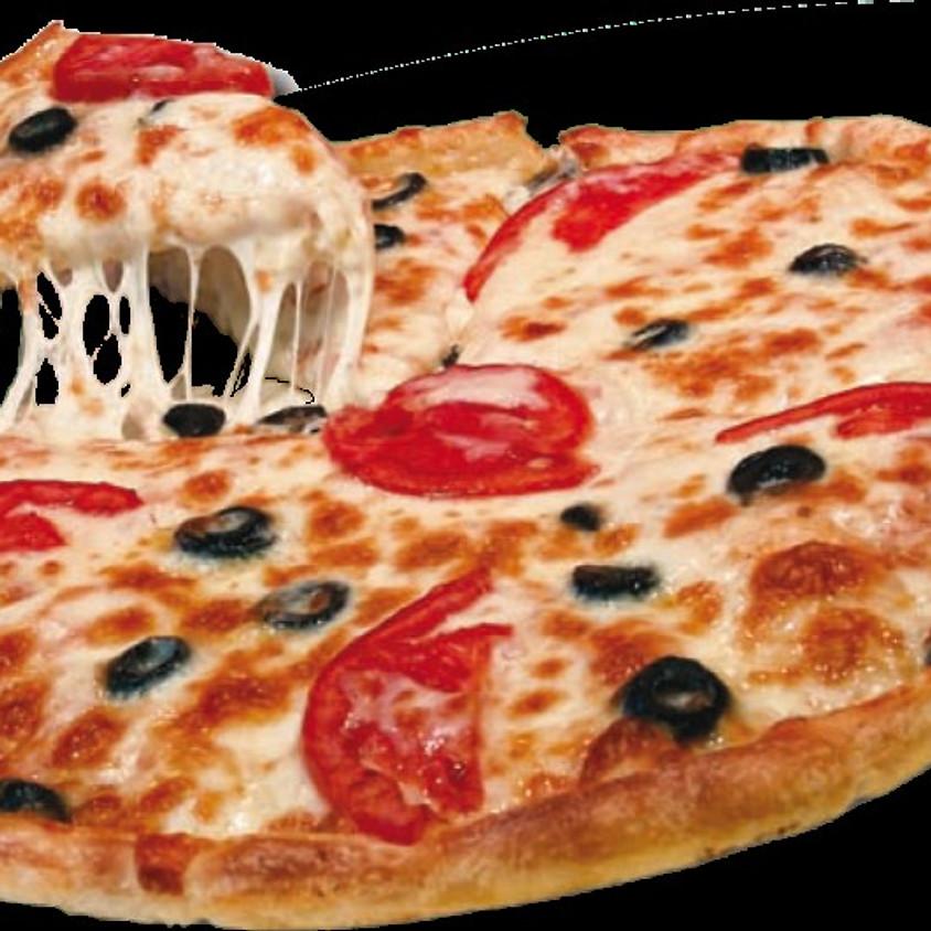 Pizzakveld i klubbhuset