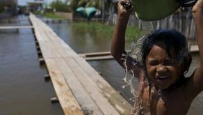 Um terço da população mundial não tem acesso a água potável.