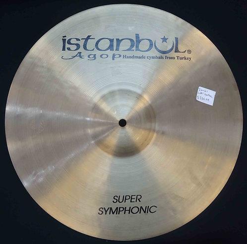 "Istanbul 17"" Super Symphonic USED!!!"