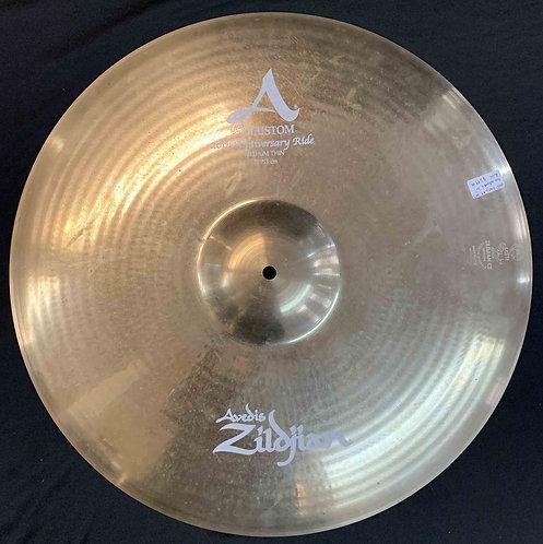 "Zildjian 21"" 20th Anniversary Ride USED!!!"