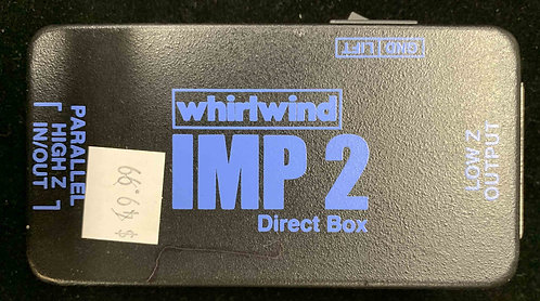 Whirlwind IMP 2 Direct Box USED!!!