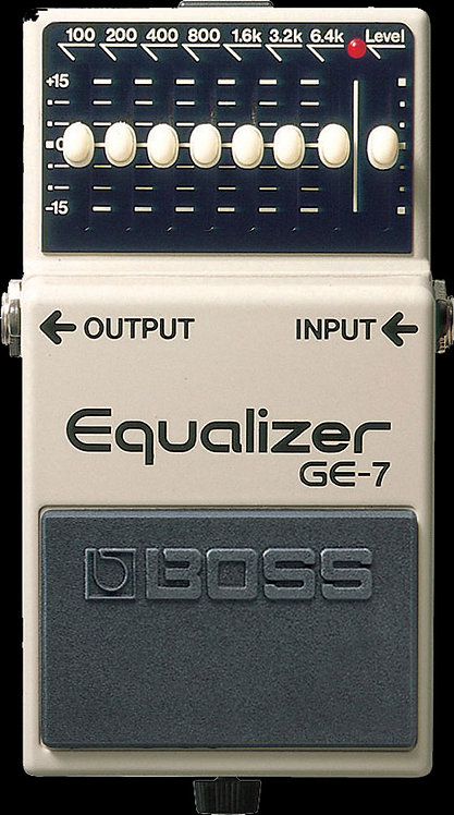 Boss GE-7 Equalizer NEW!!! GE7