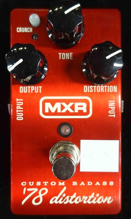 MXR Custom Badass '78 Distortion USED!!!