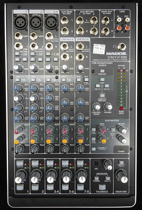 Mackie Onyx 820i USED!!!