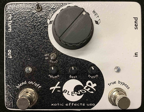 Xotic Effects X-Blender Wet/Dry Signal Blender Pedal USED!!!