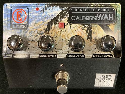 Eden CaliforniWAH Bass Filter USED!!!