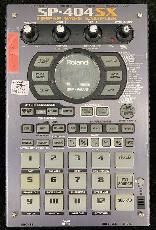 Roland SP-404SX Linear Wave Sampler USED!!!