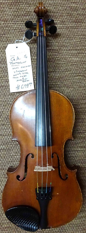 G.A. Pfretschner 4/4 Violin VINTAGE!!!