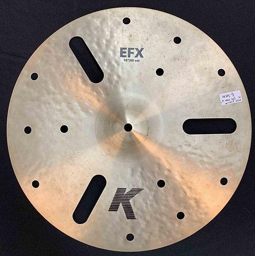 "Zildjian 16"" K EFX Crash USED!!!"