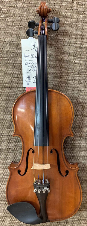Andrew Schroetter Violin USED!!!
