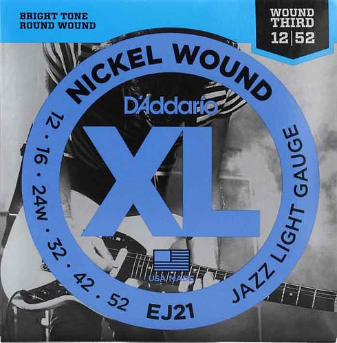 D'Addario EJ21 Jazz Light 3 Pack