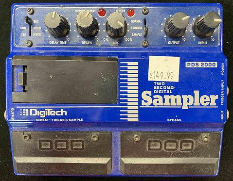 Digitech PDS 2000 Two Second Digital Sampler VINTAGE!!!