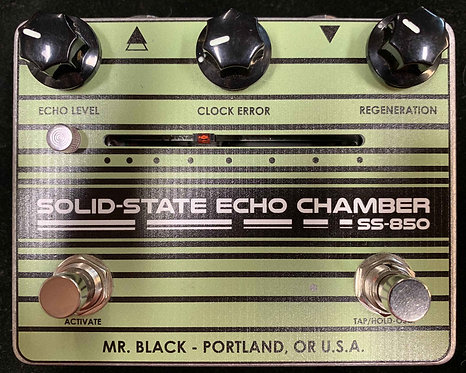 Mr. Black Solid State Echo Chamber SS-850 USED!!!