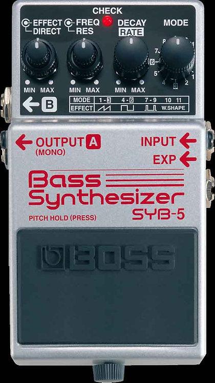 Boss SYB-5 Bass Synthesizer NEW!!! SYB5