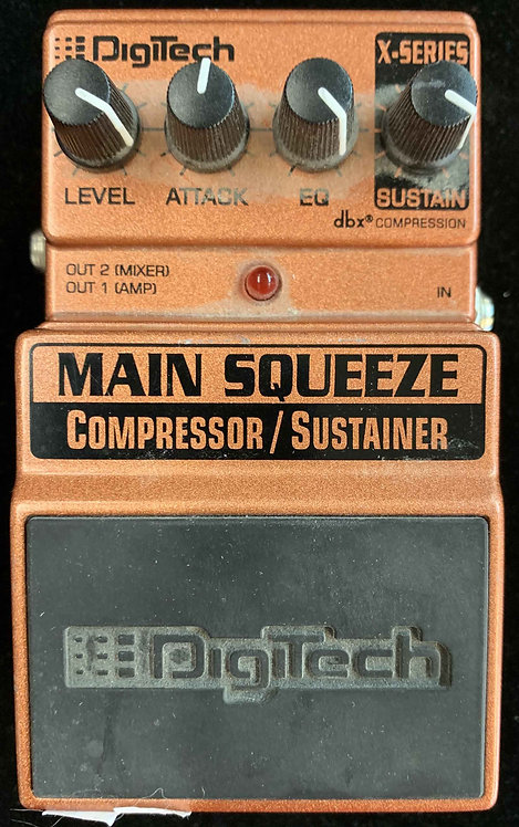 Digitech Main Squeeze Compressor/Sustainer USED!!!