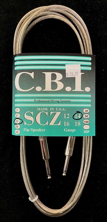 CBI 10' Speaker Cable, 14 Gauge