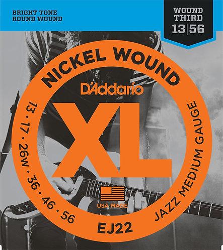 D'Addario EJ22 Jazz Medium 3 Pack