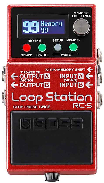 Boss RC-5 Loop Station NEW!!! RC5