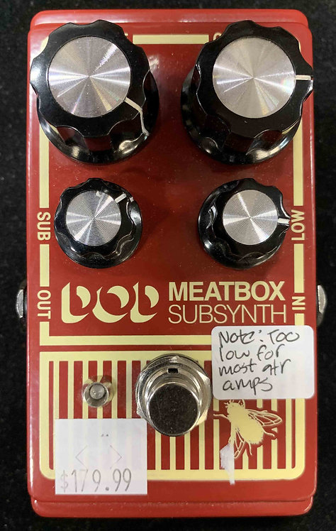 DOD Meatbox Subsynth USED!!!