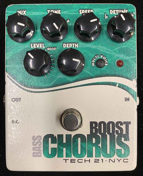 Tech 21 Bass Boost Chorus USED!!!