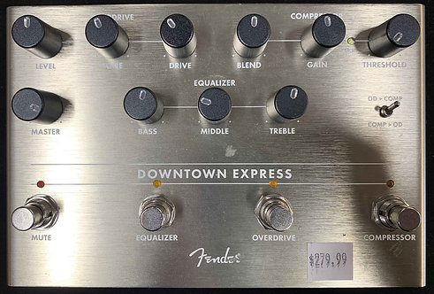 Fender Downtown Express Bass Multi-Effect Pedal USED!!!