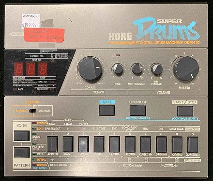 Korg DDM-110 Super Drums USED!!!