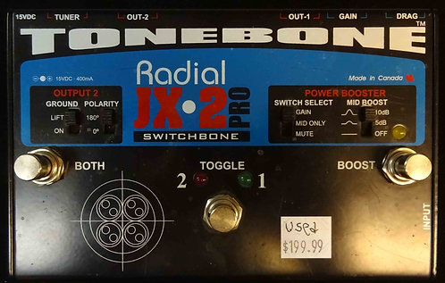 Radial Engineering JX-2 Pro Switchbone USED!!!