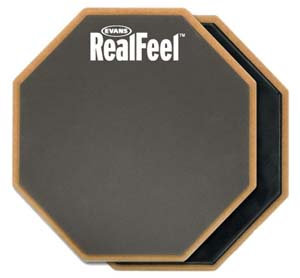 Evans Real Feel 12'' Double Side Pad NEW!!!