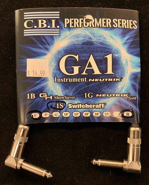 CBI 1' Instrument Cable w/2R