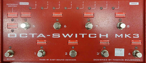 East Sound Octa-Switch MK3 USED!!!