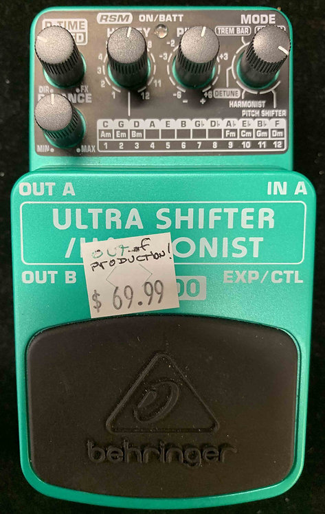 Behringer US600 Ultra Shifter/Harmonist USED!!!