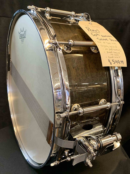 Pearl 50th Anniversary Snare Drum USED!!!