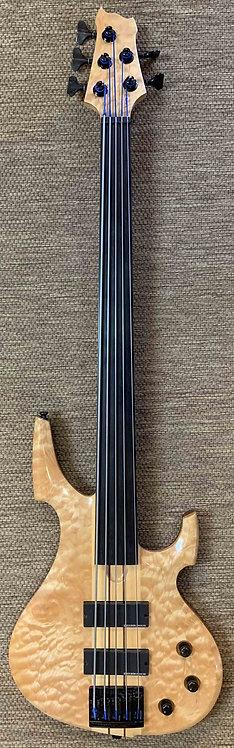 Custom Made Fretless 5-String Bass USED!!!