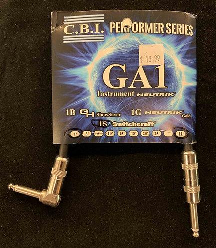 CBI 1' Instrument Cable w/1R