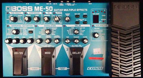 Boss ME-50 Guitar Multi-Effects USED!!! ME50