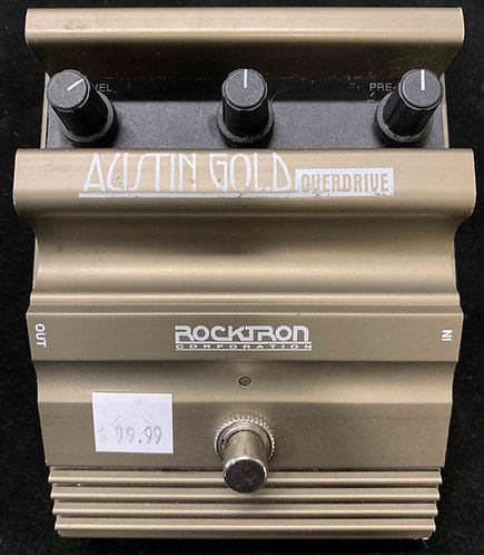 Rocktron Austin Gold Overdrive USED!!!