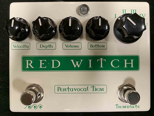 Red Witch Pentavocal Trem USED!!!