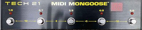 Tech 21 MIDI Mongoose USED!!!