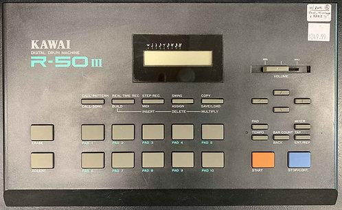 Kawaii R-50 III Digital Drum Machine VINTAGE!!!