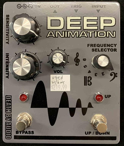 Death By Audio Deep Animation USED!!!