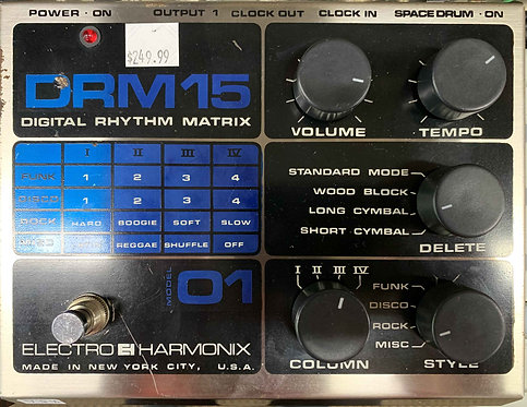 Electro-Harmonix DRM15 Digital Rhythm Matrix USED!!!