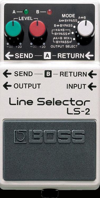 Boss LS-2 Line Selector NEW!!! LS2