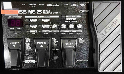 Boss ME-25 Guitar Multi-Effects USED!!! ME25