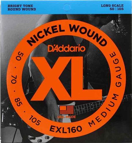 D'Addario EXL160 Medium (2 Pack)