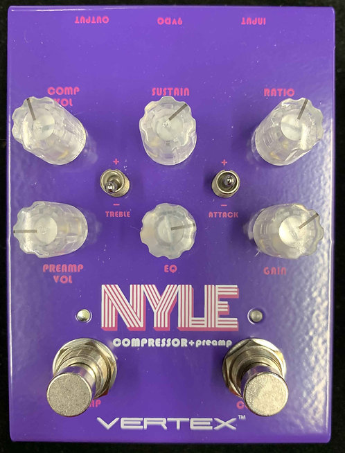Vertex Effects Nyle Compressor + Preamp USED!!!