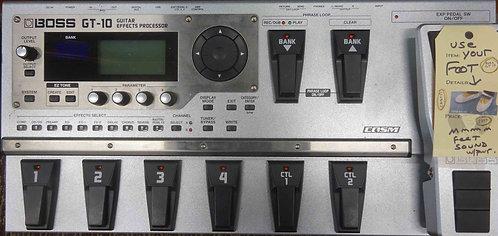 Boss GT-10 Guitar Effects Processor USED!!! GT10