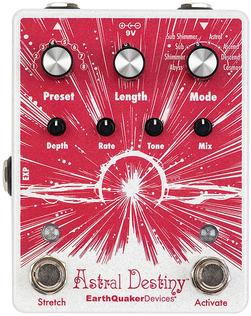 EarthQuaker Devices Astral Destiny NEW!!!