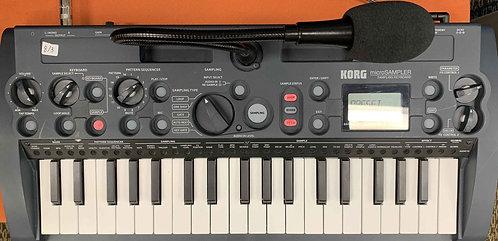 Korg microSAMPLER Sampling Keyboard USED!!!