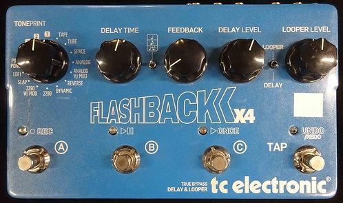 TC Electronic Flashback X4 Delay & Looper USED!!!