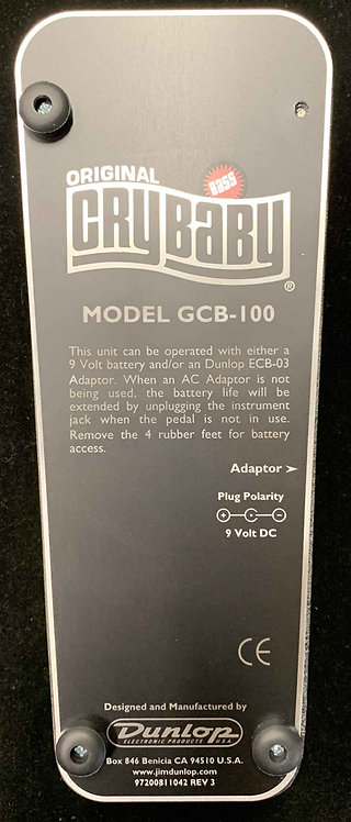 Dunlop GCB-100 Cry Baby Bass USED!!!